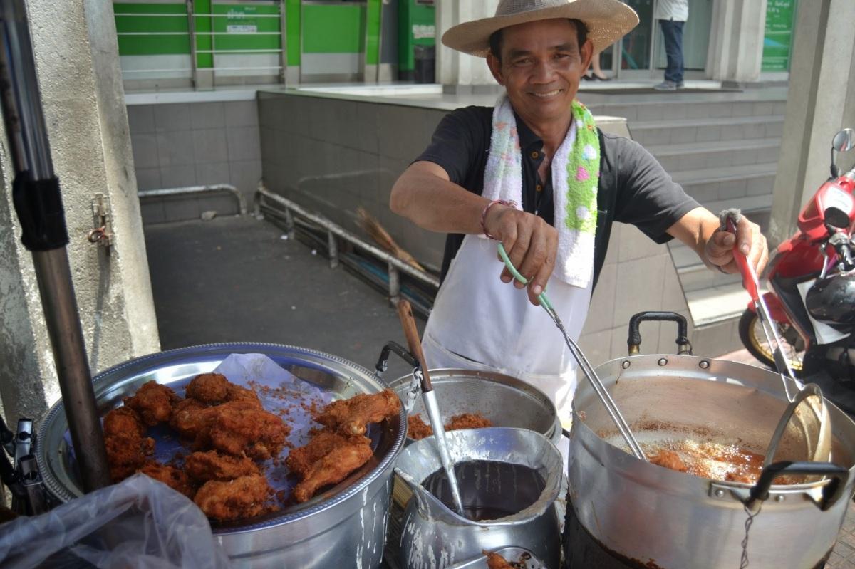 Fried Chicken in Bangkok